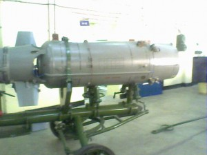 Semi automatic booster loading troley project