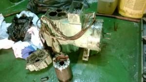 compressor overhauling