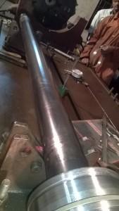 grab piston bend removal